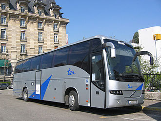 Volvo 9700 - First generation Volvo 9700HD in France.