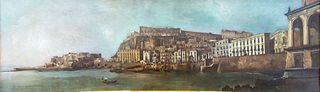 Vue de Santa Lucia à Naples