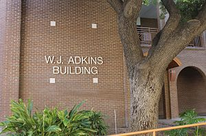 W. J. Adkins - Renovated W. J. Adkins Building (English instruction) at Laredo Community College