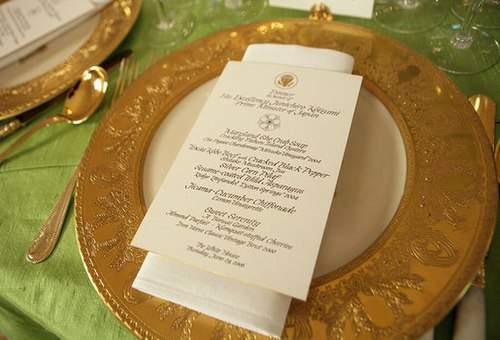 Graphics and calligraphy office wikiwand a calligraphed menu for a state dinner stopboris Choice Image