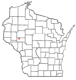 Location within the state o Wisconsin.