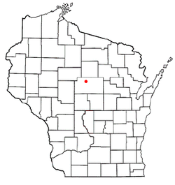 Location of Rib Falls, Wisconsin