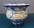 WLANL - MicheleLovesArt - Harlinger Aardewerkmuseum - Kwispedoor met marmering, Makkum (Tichelaar), 19de eeuw.jpg