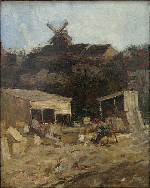 File:WLANL - artanonymous - Steengroeve bij Montmartre.jpg