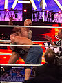 WWE Wrestlemania 28 - The Rock vs John Cena bearhug.jpg