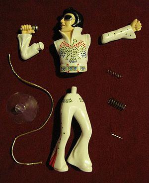 Wackel-Elvis - Parts of Wackel-Elvis