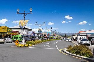 Waihi Town in Waikato, New Zealand