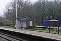 Waiting shelter, Ince and Elton railway station (geograph 3824347).jpg