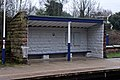 Waiting shelter, Ince and Elton railway station (geograph 3824364).jpg