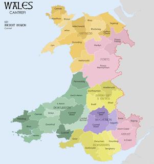 medieval Welsh land division