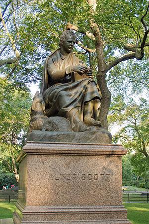 Sir Walter Scott (sculpture) - The sculpture in 2012