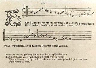 <i>Eyn geystlich Gesangk Buchleyn</i> book by Maarten Luther