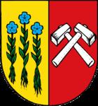 Das Wappen von Sonthofen