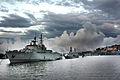Warships in Stockholm harnbor.jpg