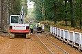 Warwickslade Cutting - running the railway (start of sequence) - geograph.org.uk - 1535130.jpg