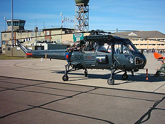 Westland Wasp - Westland Wasp HAS.1 G-CBUI as XT420 in markings of 829 NAS, HQ Flt at RNAS Yeovilton in 2005