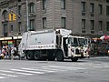 Waste collection truck sanitation New York city.JPG
