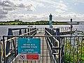 Water Bus landing stage, Grangetown - Cardiff - geograph.org.uk - 1468951.jpg