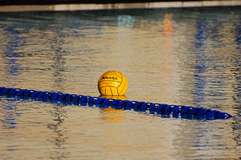 MJC Women's Water Polo team at practice.