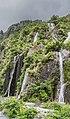 Waterfalls in Westland Tai Poutini National Park.jpg