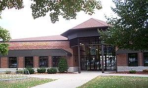 Waupaca, Wisconsin - Image: Waupaca Wisconsin Public Library