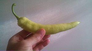 Hungarian wax pepper - Image: Wax pepper