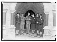 Wedding group at St. George's. Sgt. Brown (Australian) LOC matpc.14252.jpg