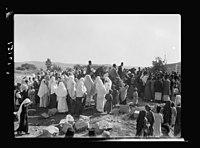 Wedding procession at Betunia, peasants LOC matpc.18990.jpg