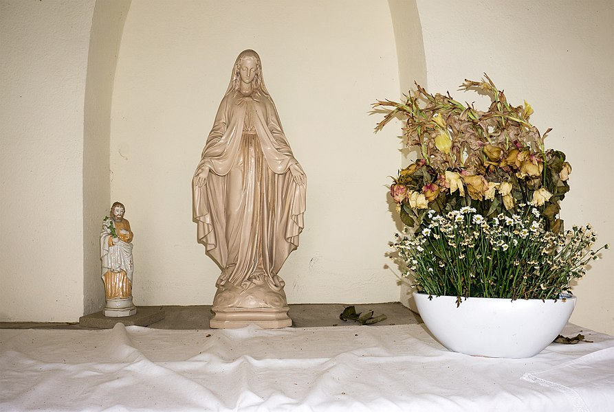 Wayside chapel in Mondorf-les-Bains, Place Bernard Weber