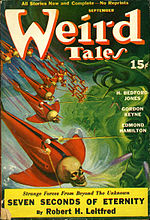 Weird Tales cover image for September 1940