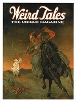 Weird Tales Cover for December 1923 - January 1924