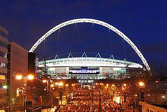 Wembley Stadium - Wembley illuminated
