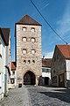 Wemding, Stadtbefestigung, Wallfahrtstraße 22, Amerbacher Tor 20170830 003.jpg