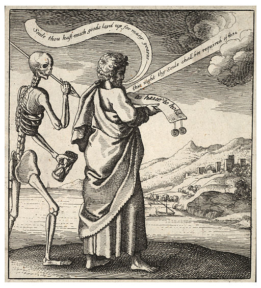 Wenceslas Hollar - Death's arrest