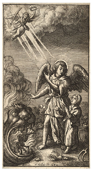 Wenceslas Hollar - Morning prayer