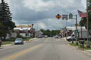 Westfield, Wisconsin - Downtown Westfield