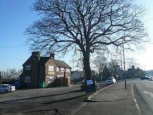 Newbold, Derbyshire - Image: Wheatsheaf, Newbold