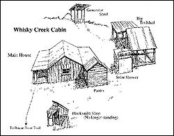 Whisky Creek Cabin Map The Full Wiki
