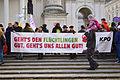 Wien - Demo Flüchtlinge willkommen - KPÖ.jpg