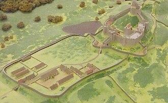Wigmore Castle - Reconstruction of Wigmore Castle