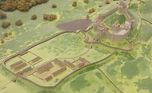 Reconstruction of Wigmore Castle