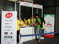 Wikimanía 2015 - Day 3 - Volunteers - LMM - México D.F.jpg