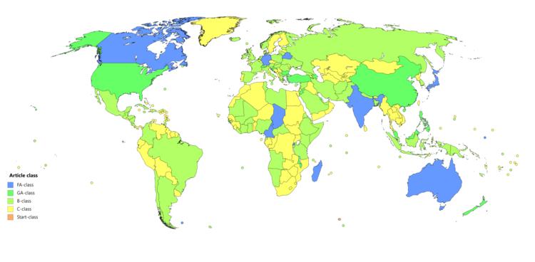 Wikipedia:WikiProject Countries - Wikipedia on