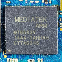 Wiko Rainbow 4G - main printed circuit board - Mediatek MT6582V-8620.jpg
