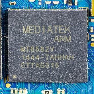 ARM Cortex-A7 - Mediatek MT6582V