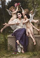 William-Adolphe Bouguereau (1825-1905) - A Dream of Spring (1901).jpg