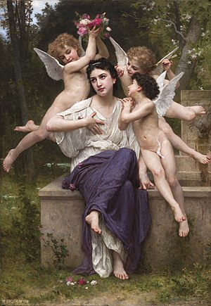 Rêve de printemps - Image: William Adolphe Bouguereau (1825 1905) A Dream of Spring (1901)