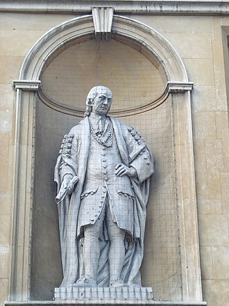 William Harpur - Statue outside Bedford Tourist Information Centre
