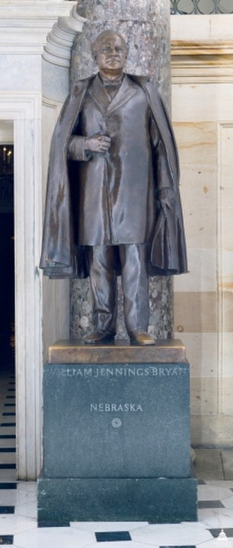 William Jennings Bryan (Evans) - The sculpture in the National Statuary Hall Collection