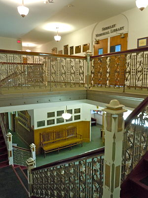 Williamson College of the Trades - Image: Williamson stairway